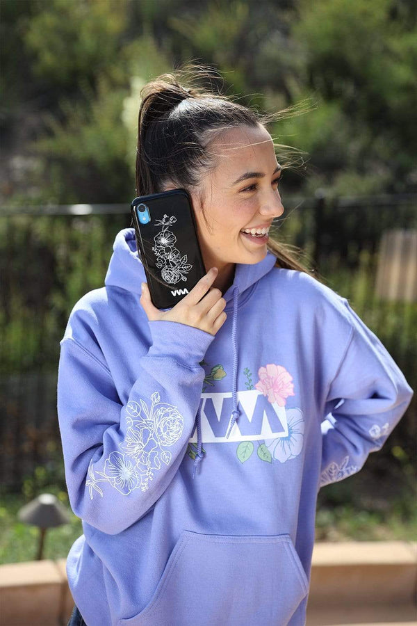 Merrell Twins: VVM Black Flower Phone Case