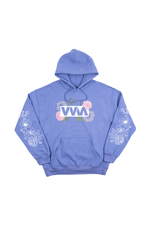 Merrell Twins 'VVM Flowers' Purple Hoodie