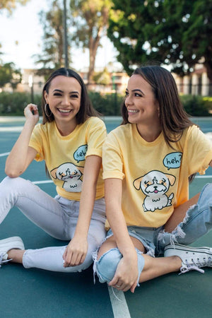 Merrell Twins: Yellow Tiger Shirt