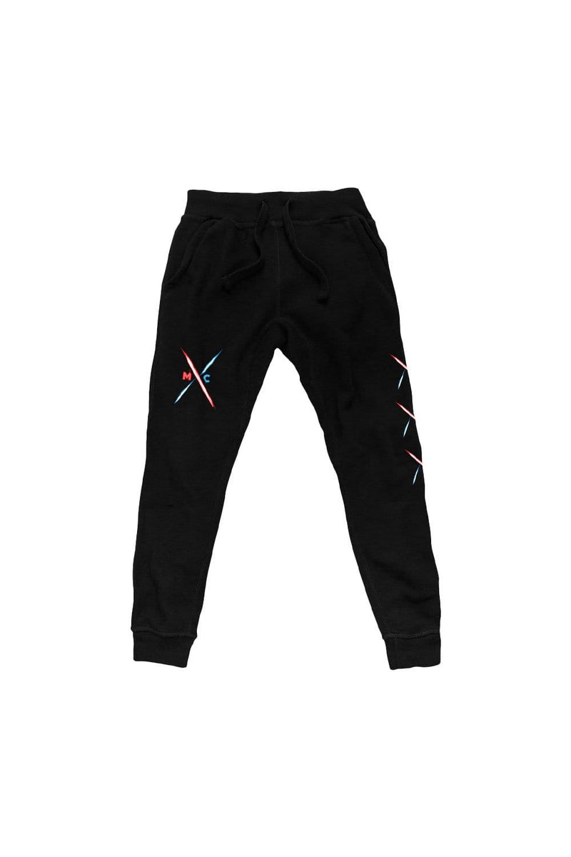 Micah and Corey: MxC Black Joggers