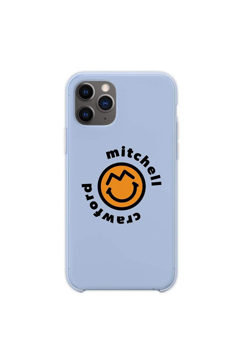 Mitchell Crawford Smiley Blue Phone Case