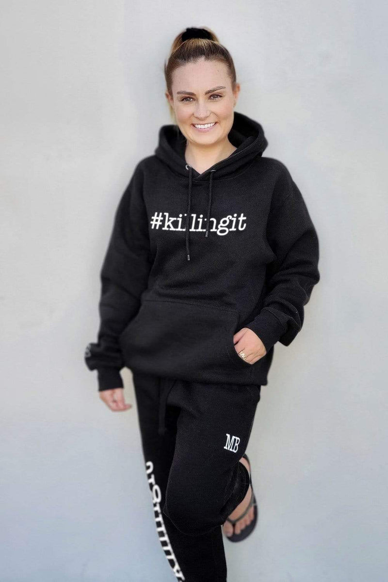 Molly Burke: '#killingit' Black Joggers