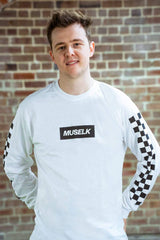Muselk Checkered Long Sleeve
