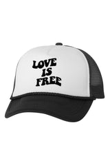 Natalie Noel: Love Is Free Trucker Hat