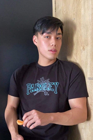 Newton Nguyen 'PARSLEY' Black Shirt