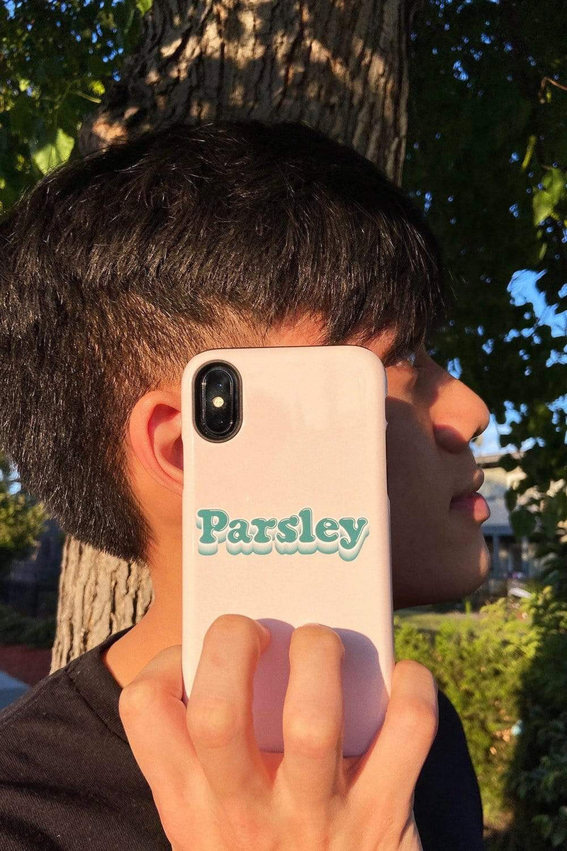 Newton Nguyen 'PARSLEY' Cream Phone Case