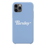Newton Nguyen 'PARSLEY' Pastel Blue Phone Case