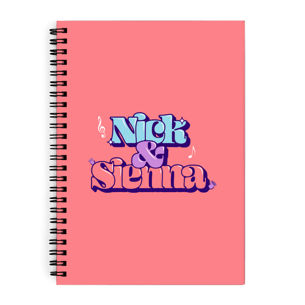 Nick and Sienna Notebook