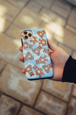 Nick Austin Blue Teddy Bear Phone Case