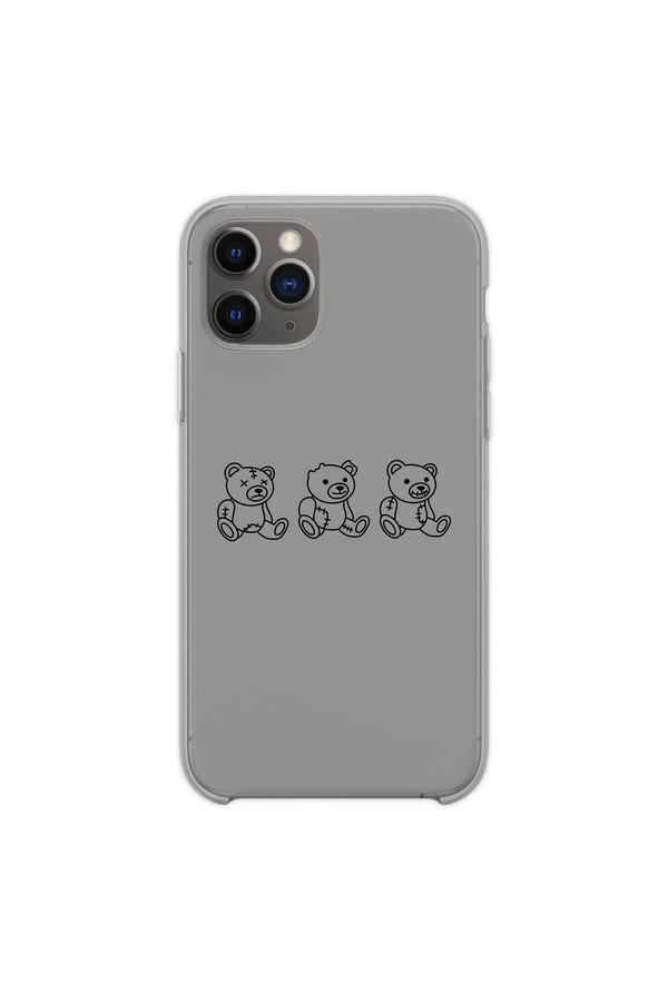 "Nick Austin: Grey ""No Evil"" Phone Case"