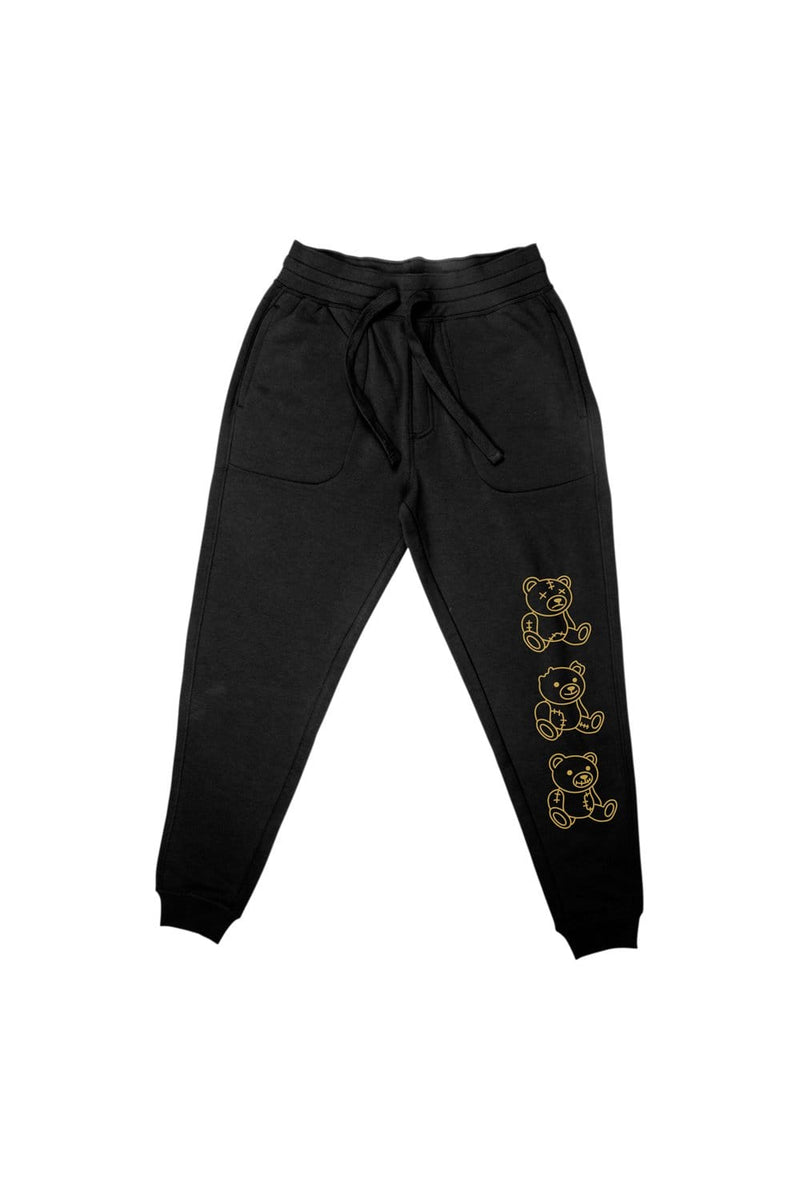 "Nick Austin: ""No Evil"" Black Jogger"