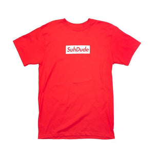 Nick Colletti Red with White Suhpreme Shirt