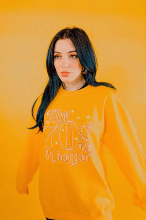 Niki: 70's Did It Better Crewneck