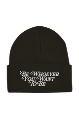 Noen: Be Whoever Beanie (Black)