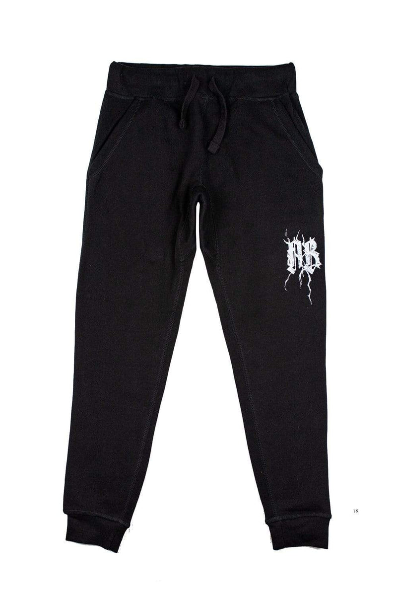 NOISYBUTTERS Exclusive Black Joggers
