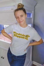 NOISYBUTTERS Exclusive 'Positivity & Happiness' Shirt