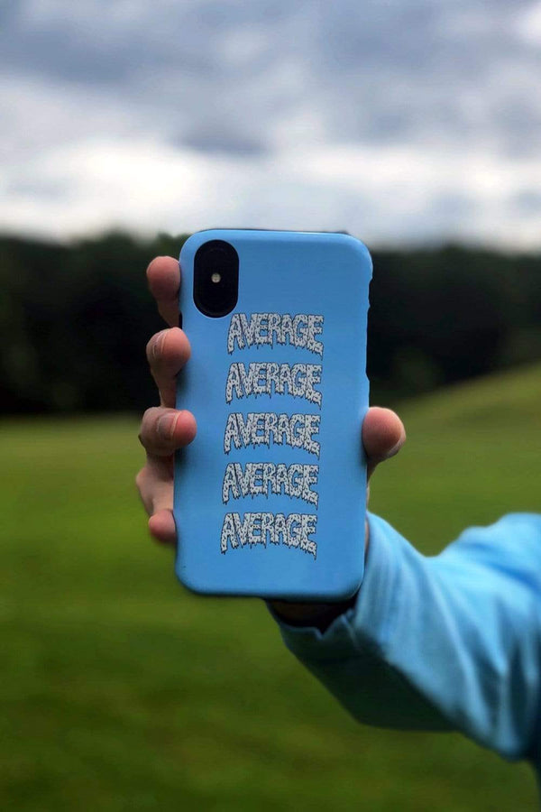 Ryan Abe Blue Average Phone Case