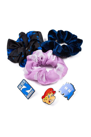 Sam Golbach: Never Normal Scrunchie & Enamel Pin Pack