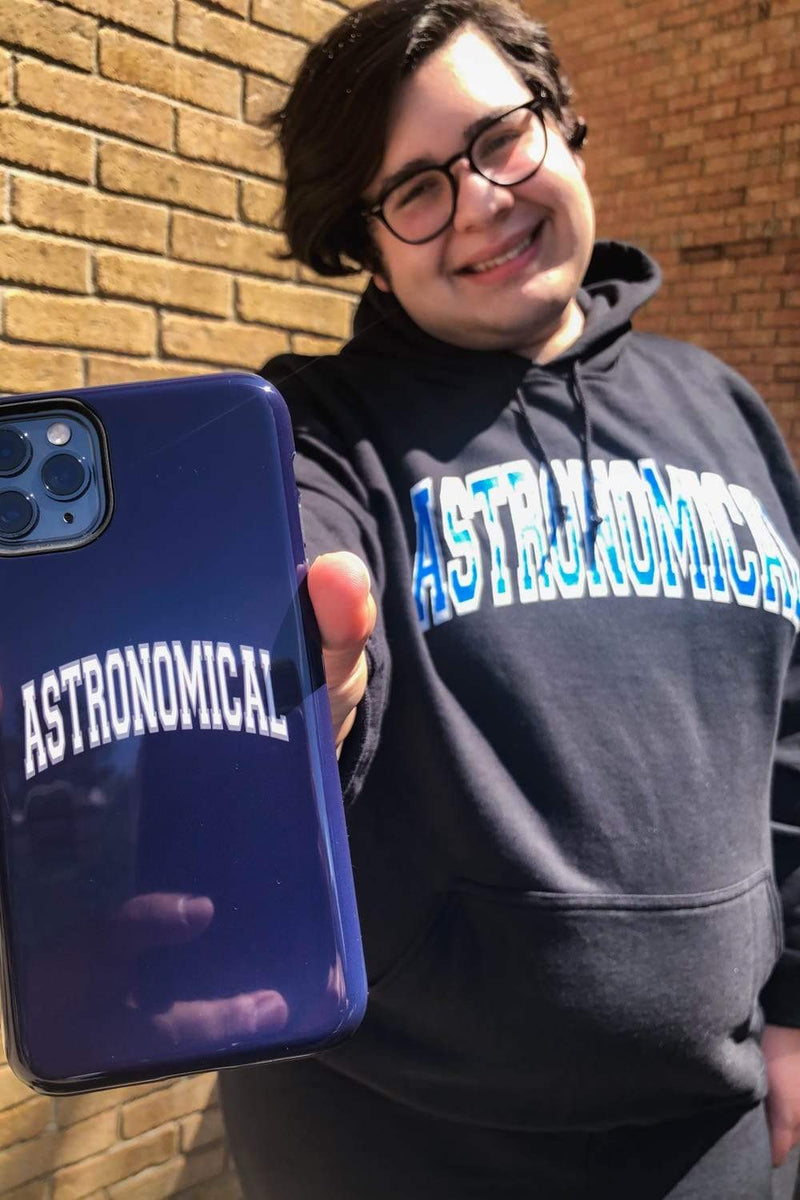 SnarkyMarky 'Astronomical' Navy Phone Case