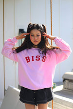 Stephanie Soo Signature 'BISS' Light Pink Crewneck