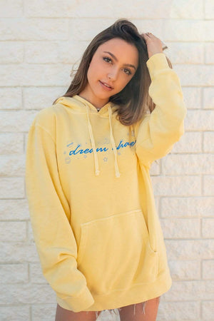 Sydney Serena: Yellow Dream Chaser Hoodie