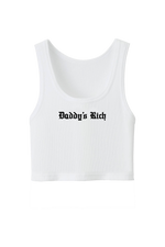 Tana Mongeau: Daddy's Rich Ribbed Crop Top