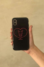 TaraYummy 'Yummy' Black Phone Case
