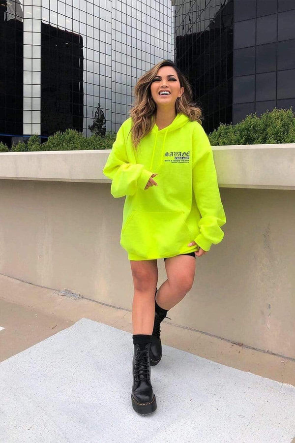 That's Heart Savage Pero Like Neon Hoodie