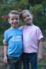 The Crosbys: Pink Youth Clare Silhouette Shirt