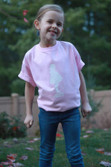 The Crosbys: Pink Youth Claire Silhouette Shirt