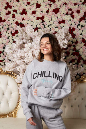 Tom Schwartz Chilling Officially Sweater