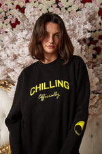 Tom Schwartz Limited Edition Black Chilling Officially Sweater