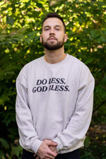 Trey Kennedy Do Less God Bless Sweater