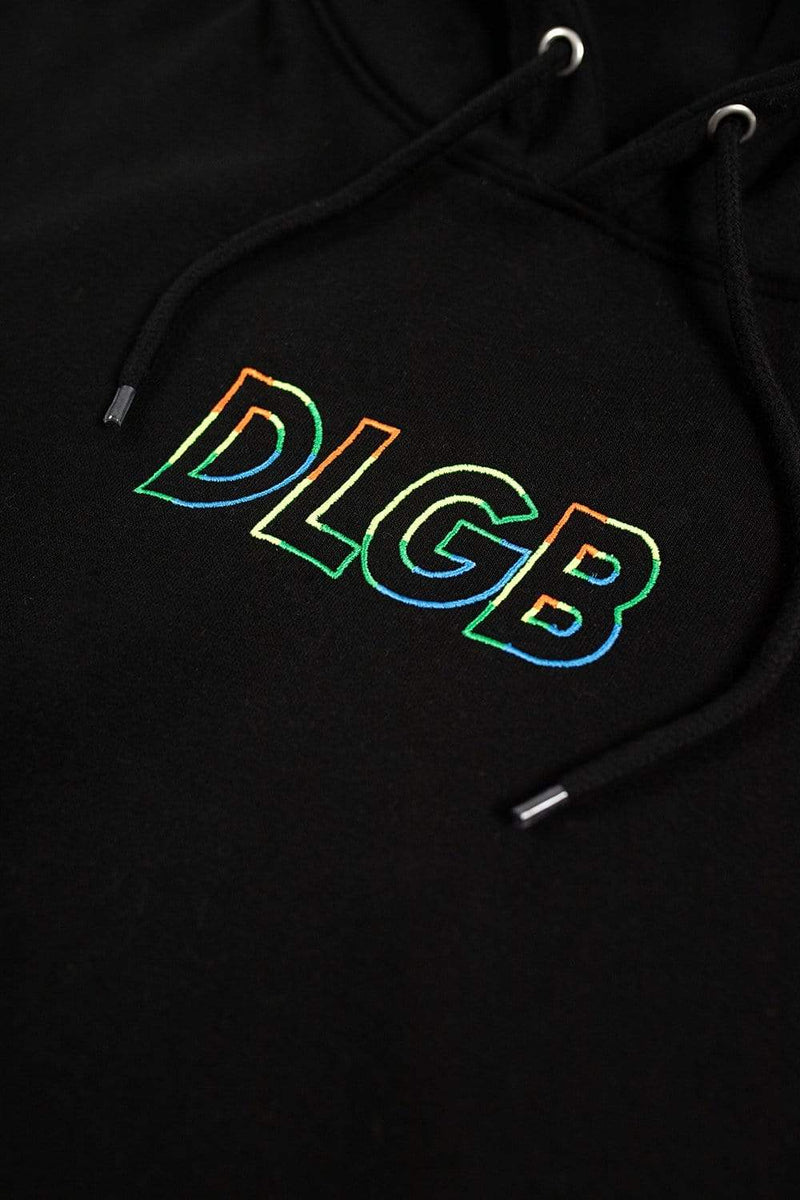 Trey Kennedy Neon Do Less God Bless Hoodie