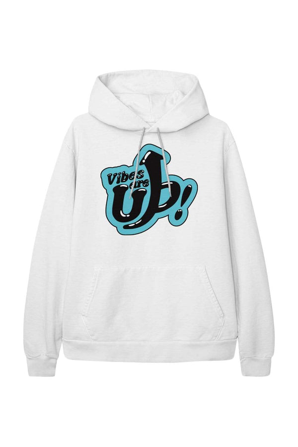 Trey Kennedy: Vibes Are Up White Hoodie