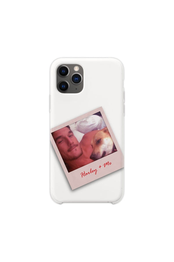 Tyler Cameron: Harley and Me White Phone Case