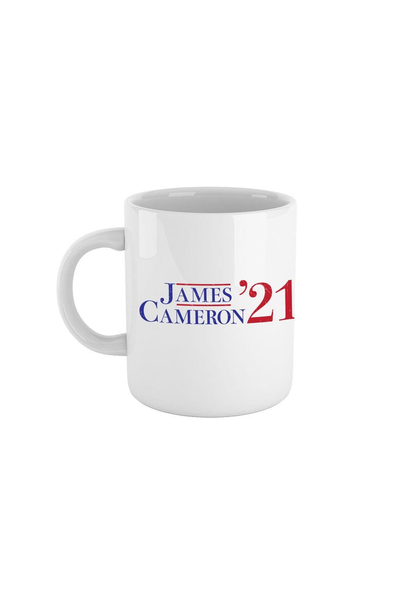Tyler Cameron: James Cameron '21 White Mug