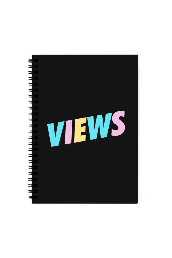 Views: Welcome Back Black Notebook