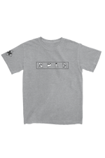 X P L R: Heather Grey Camo Shirt