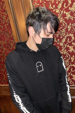 X P L R: Limited Edition Reflective Ghost Hoodie