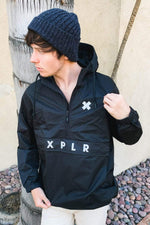 XPLR Black Anorak Jacket
