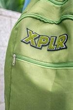 XPLR: LIMITED EDITION CHENILLE PATCH BACKPACK