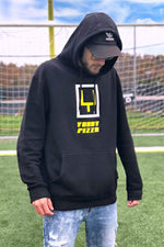 YOBOY PIZZA Limited Edition Field Goal Black Hoodie