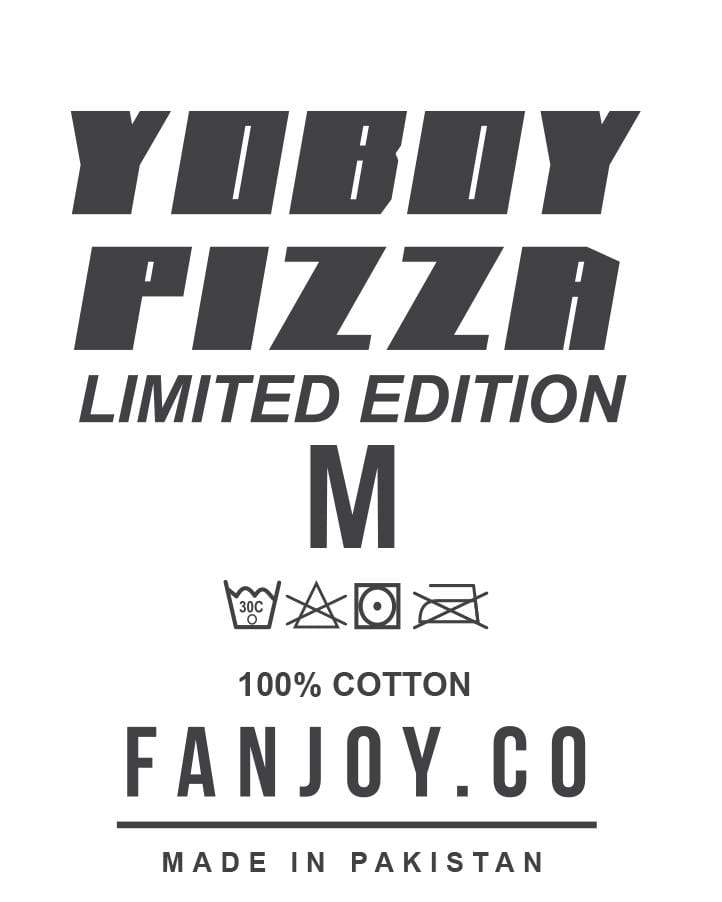 YOBOY PIZZA Limited Edition Field Goal Black Shirt