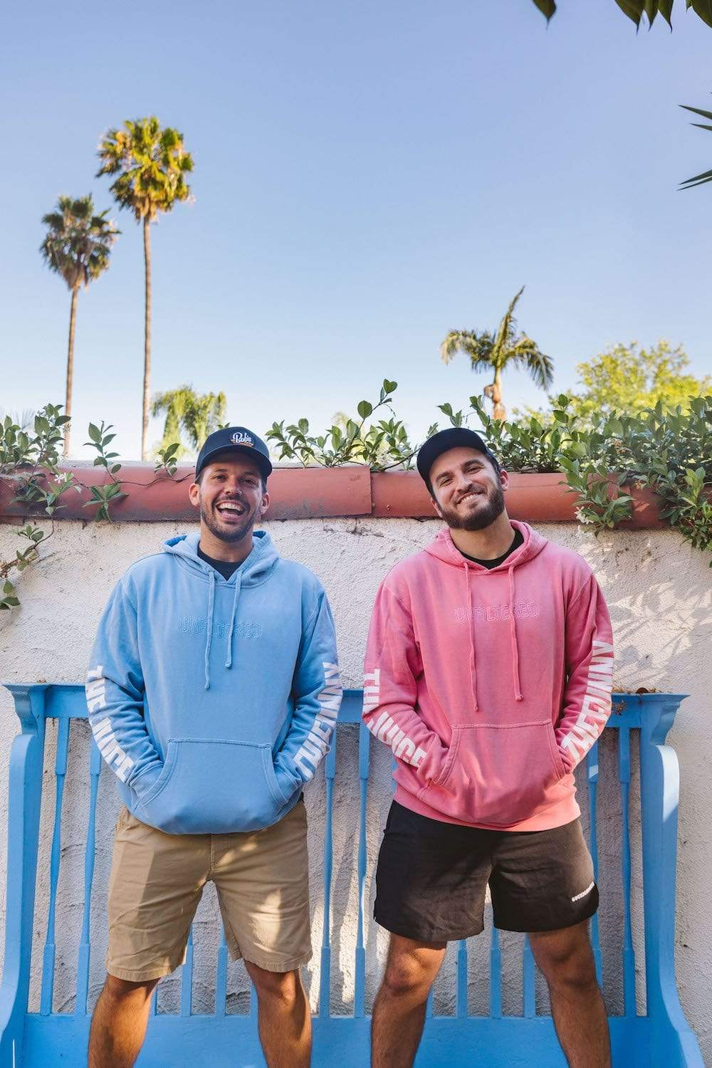 Zane and Heath Blue The Juice and The Funny Hoodie - Fanjoy