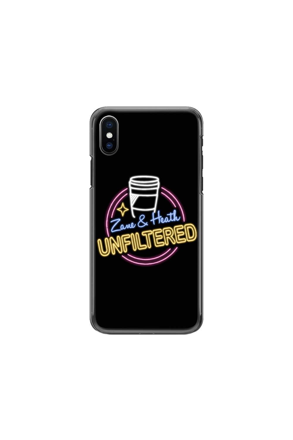 Zane and Heath Official Unfiltered Phone Case - Fanjoy