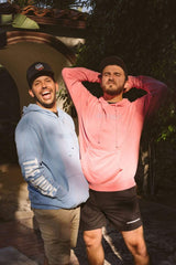 Zane and Heath Pink The Juice and The Funny Hoodie