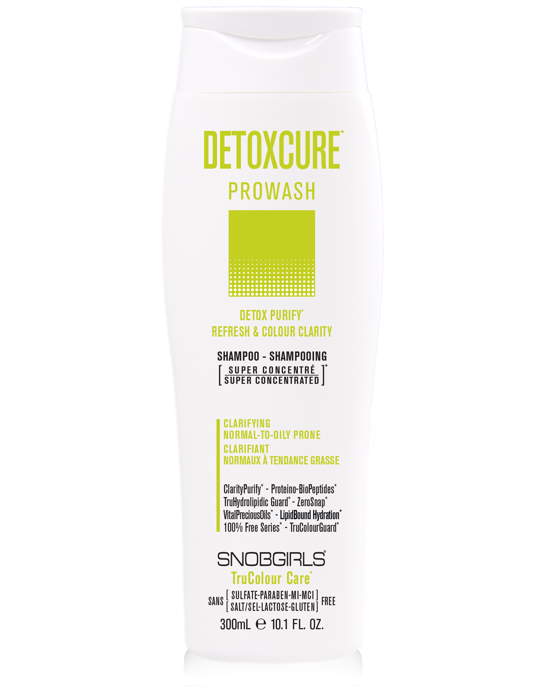 DETOXCURE Detox Purify - Colour Clarity Prowash (shampoo) - SNOBGIRLS.com