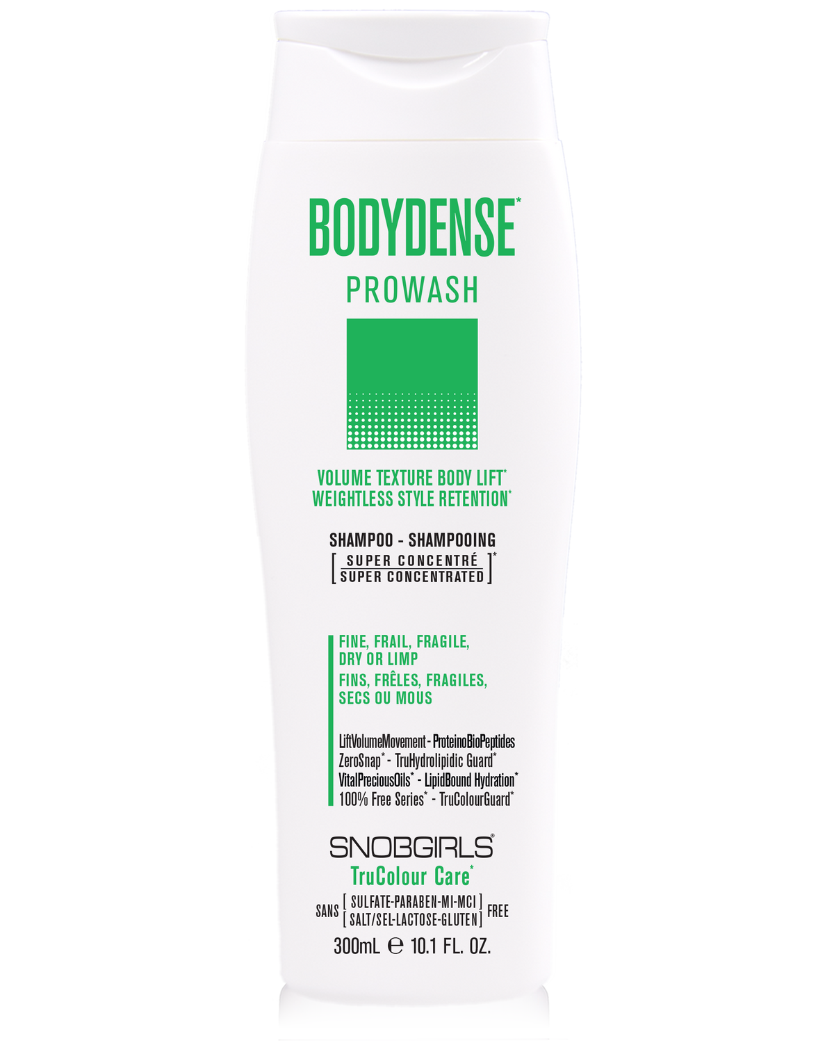 Trio BODYDENSE Volume Texture Body Lift Weightless Style Retention - SNOBGIRLS.com