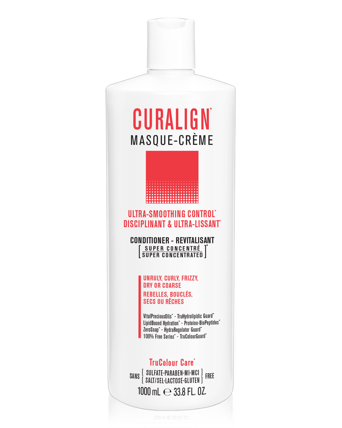 CURALIGN Ultra-Smoothing Control Masque-Creme (conditioner) - SNOBGIRLS.com
